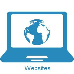 Image of a graphic representing the website design