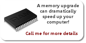 Image showing memory upgrade options