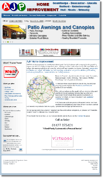 Image of website design by Knightwood Computer Services, Misterton, Everton, Gringley, Mattersey